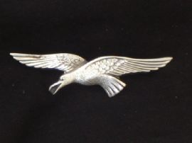 Seagull Brooch Sterling Silver 1940s Vintage pin (SOLD)